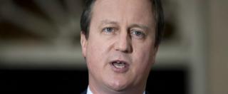 """David Cameron si è dimesso da deputato: """"Scelta giusta, ora fuori dalla politica"""""""