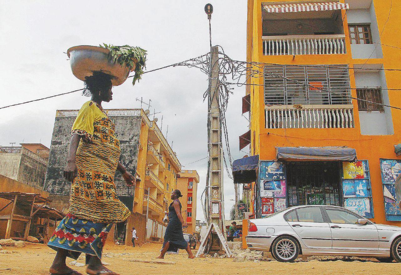Sakande, il migrante porta il freddo in Africa