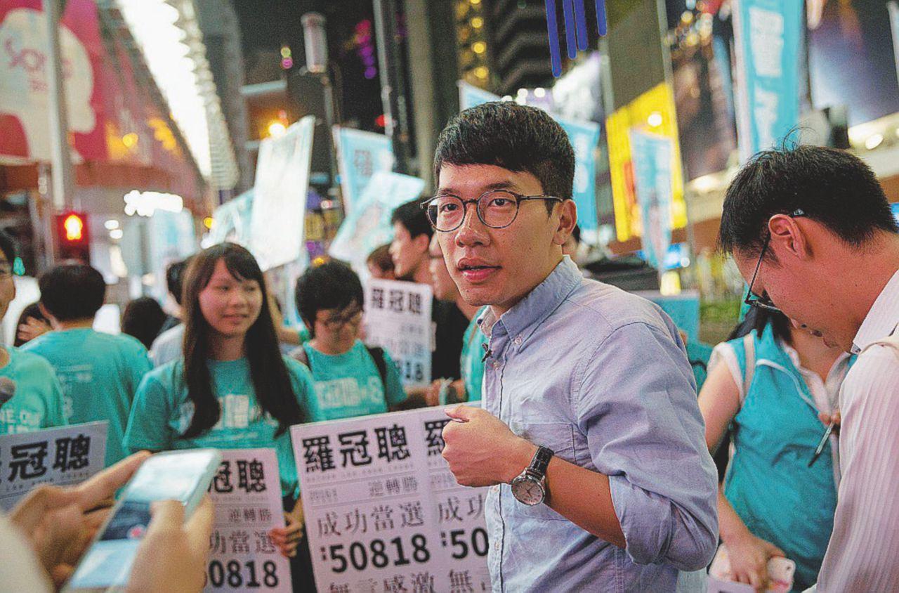 La prima volta di Nathan Law che sogna l'indipendenza da Pechino