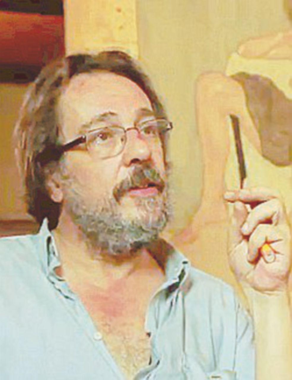 """Riccardo Mannelli alle prese con la """"Bellezza vera"""""""