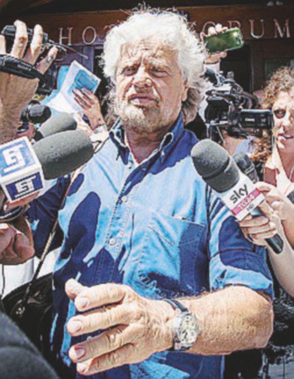 Grillo boccia il candidato scelto dall'assemblea M5S