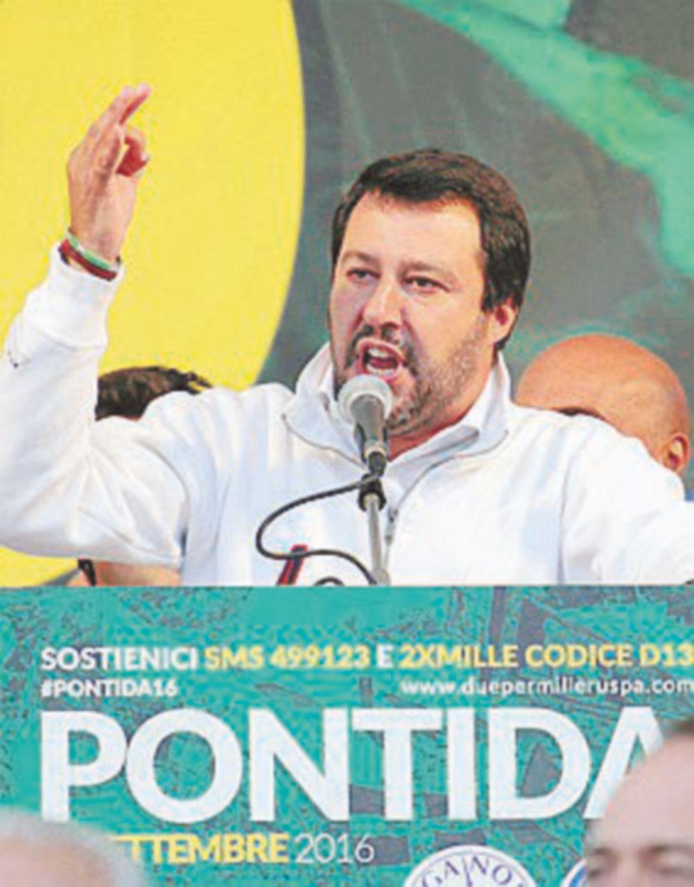 """Salvini: """"Parlo solo con Silvio"""". Parisi: """"Sotto elezioni vedremo…"""""""