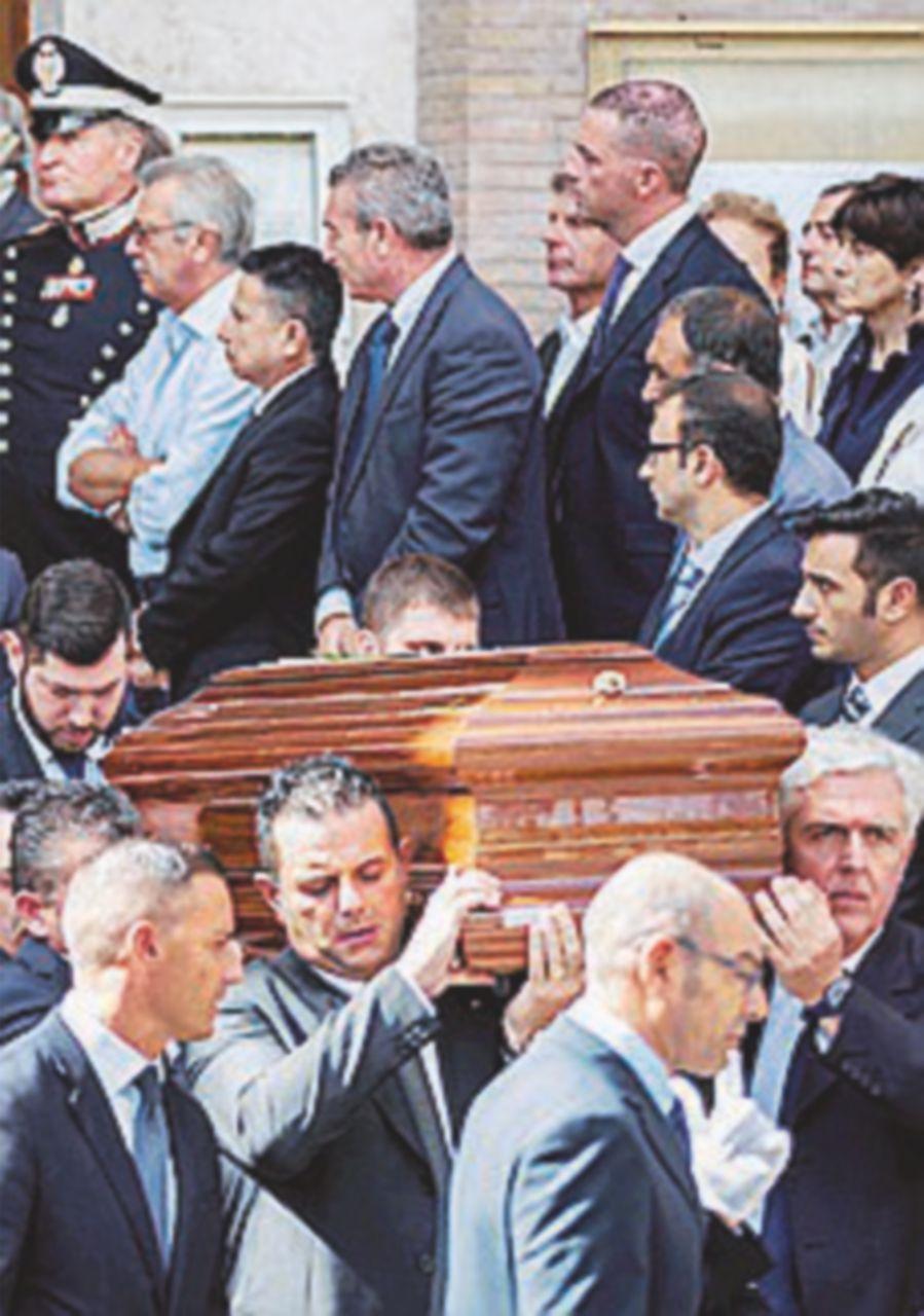 L'ultimo saluto a Ciampi: ieri, funerali in forma privata
