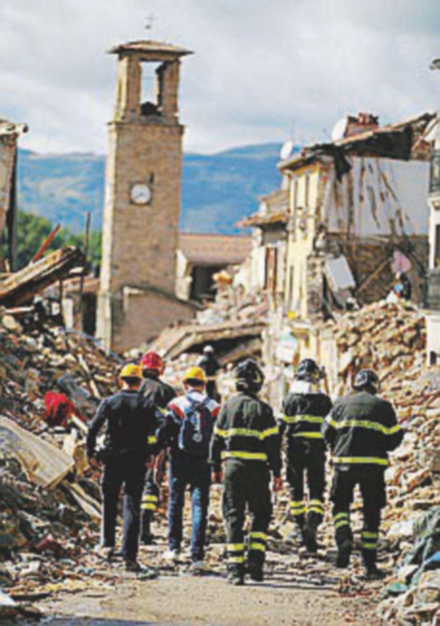 L'ultima vittima del terremoto dopo un mese esatto