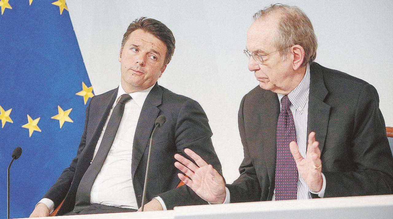 Austera solo un po' Manovra, tensione tra Renzi e Padoan