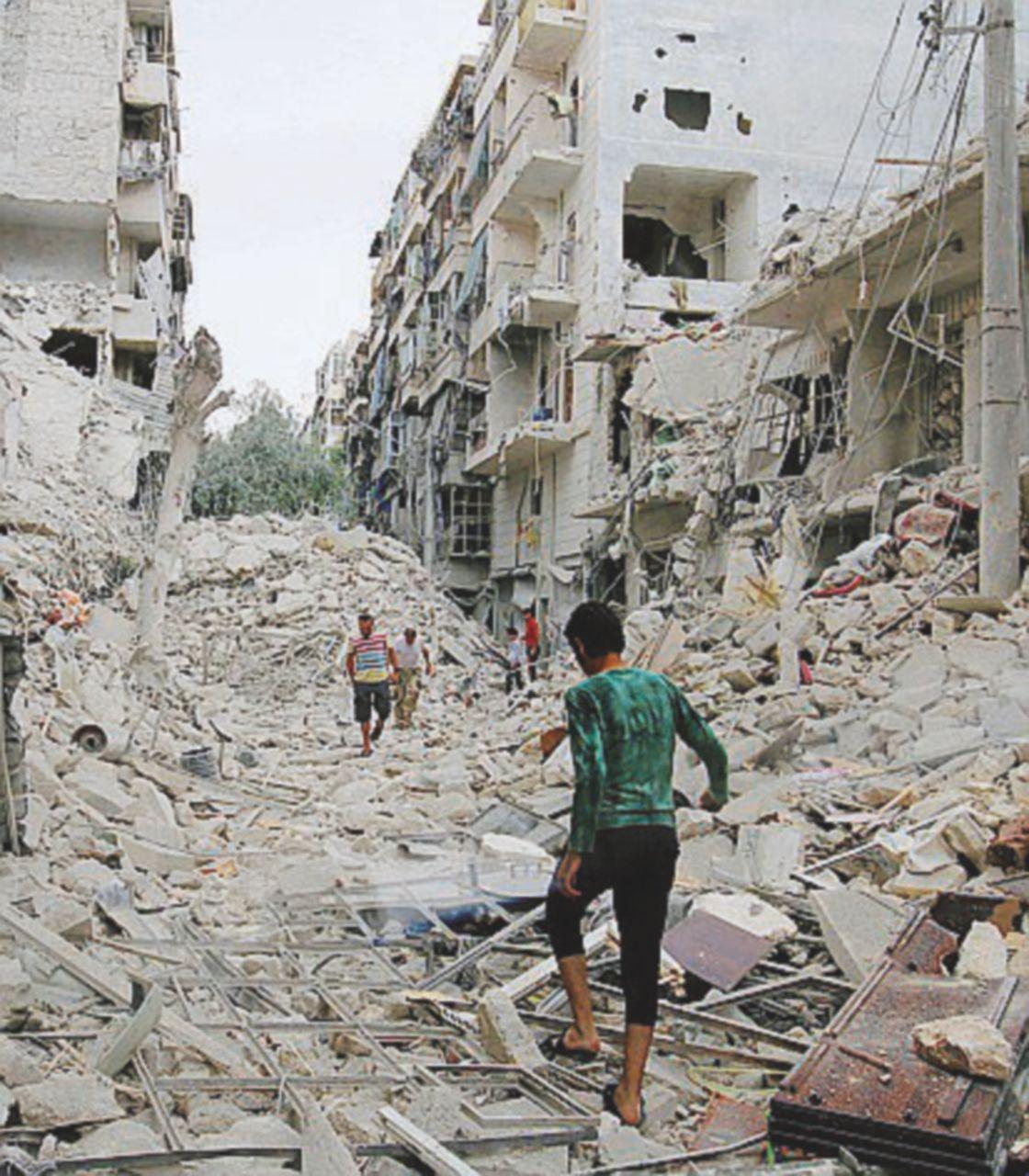 Russi e americani litigano sulla carneficina di Aleppo