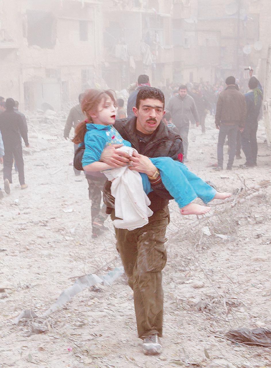 """Il """"gioco"""" dei bambini di Aleppo: vivo, morto, X"""