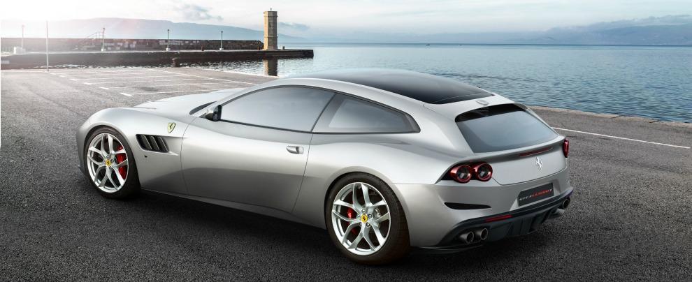 Ferrari GTC4Lusso T, a Parigi arriva la prima quattro posti col motore V8 – FOTO