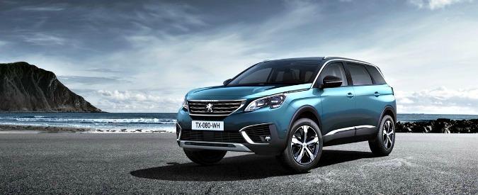 Salone di Parigi, Peugeot presenta il nuovo large suv 5008 – FOTO