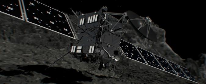 """Rosetta, ultimo tuffo sulla cometa 67P. """"Addio romantico, scatti saranno utili per ricostruire le origini del Sistema solare"""""""