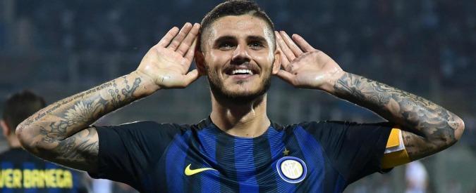 """Mauro Icardi resta capitano dell'Inter. In arrivo multa e revisione della biografia. Casa editrice: """"Dalla prima ristampa"""""""