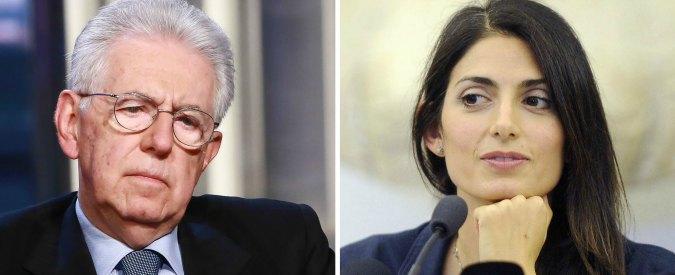 """Olimpiadi 2024, Pd in coro contro Raggi: """"Roma perde opportunità"""". Ma nel 2012 elogiava Monti e dimenticava la Capitale"""