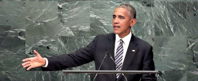 """Onu, l'ultimo discorso di Barack Obama: """"La Russia cerca vecchia gloria con la forza. No all'uomo forte e ai populismi"""""""