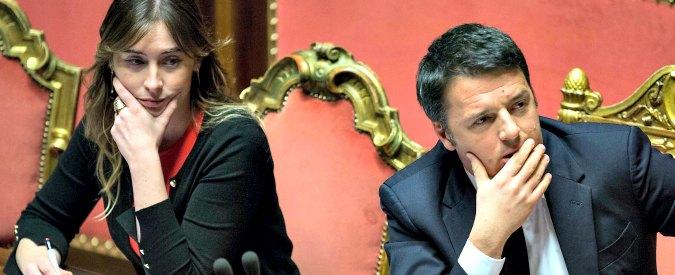 """Conti pubblici, la Boschi fa da spalla a Renzi sul """"tesoretto da 47 miliardi"""". Che non esiste: 45,1 sono virtuali"""