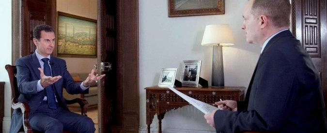 """Siria, Assad: """"La guerra continuerà. Usa non vogliono combattere i terroristi"""""""