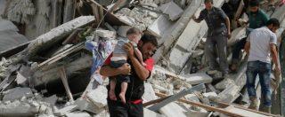 """Siria, 90 morti ad Aleppo: """"Raid governativi. Molti bambini tra le vittime"""""""
