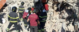 Terremoto Centro Italia. Nuovo cadavere individuato ad Amatrice. Identificata intanto una delle vittime dell'Hotel Roma