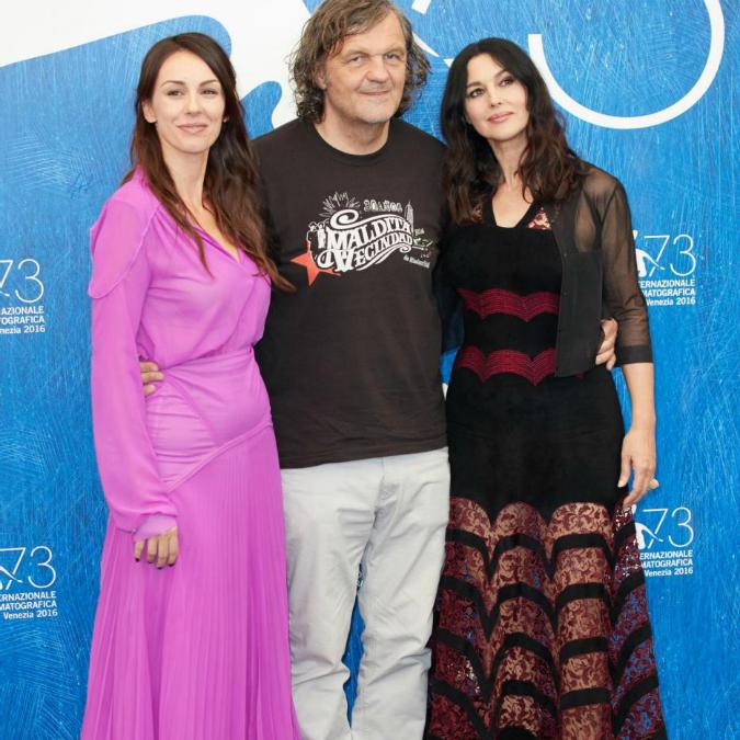 Festival di Venezia, On the milky road – L'amore tra Emir Kusturica e Monica Bellucci tra il caos della guerra e la natura