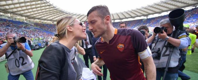 """Francesco Totti, Ilary Blasi attacca Spalletti: """"Lo subisce, è un uomo piccolo. Non l'ha guidato in un percorso umano"""""""