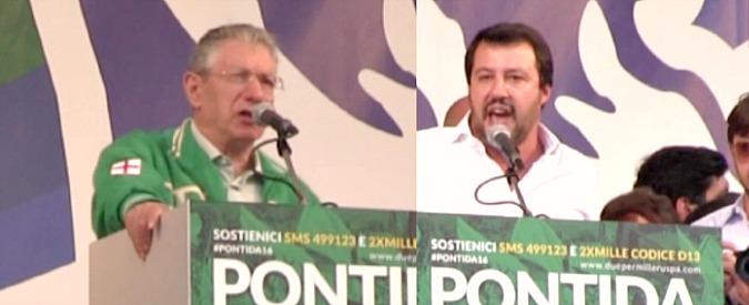 Lega, Bossi: 'Base è stufa di Salvini, ora il congresso'. La replica: 'So già chi vincerà'