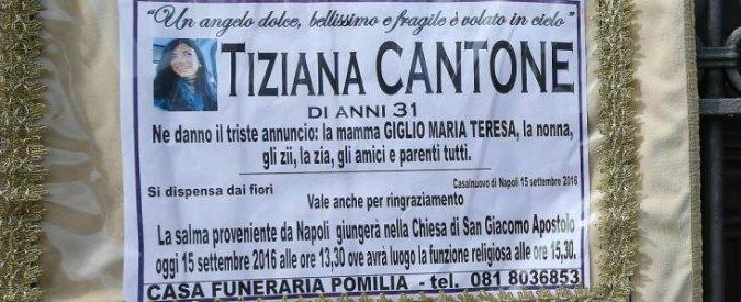 """Tiziana Cantone, la denuncia ai pm: """"Quei video mi stanno rovinando la vita"""""""