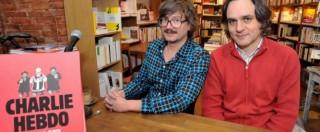"""Charlie Hebdo, il direttore dopo la querela di Amatrice: """"Non ci spaventa. Per noi è solo umorismo nero"""""""