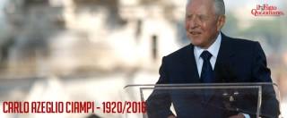 Carlo Azeglio Ciampi, il capo dello Stato che avrebbe voluto fare l'insegnante