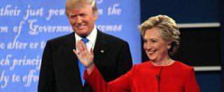 Elezioni Usa 2016, Clinton batte Trump nel primo duello tv: Hillary gioca d'esperienza, Donald evita gli eccessi
