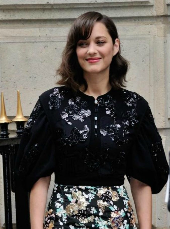 Marion Cotillard attending the Christian Dior Haute Couture Fall - Winter 2016/2017 show as part of Paris Fashion Week on July 04, 2016 in Paris, France. Photo by Aurore Marechal/ABACAPRESS.COMAbacaPress/LaPresseOnly Italy 553805