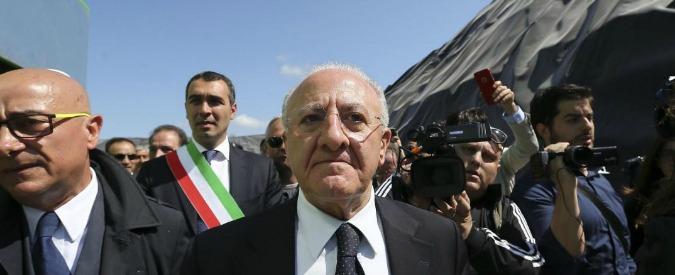 """Vincenzo De Luca assolto a Salerno per il Sea Park: """"Fatto non sussiste"""". Attacco a Bindi: """"Altro che impresentabile"""""""