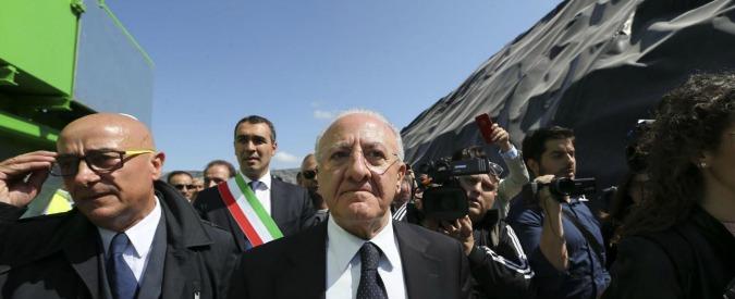Ecoballe Campania, a tre mesi dall'annuncio di De Luca smaltito solo l'1 per cento dei rifiuti