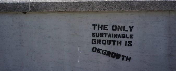 Pil e sviluppo sostenibile, non si può crescere per sempre