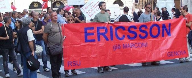 Licenziamenti Ericsson, Renzi se ci sei batti un colpo