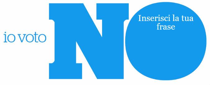 Dite #PerchéNo. L'iniziativa social del Fatto Quotidiano per condividere la scelta al Referendum Costituzionale