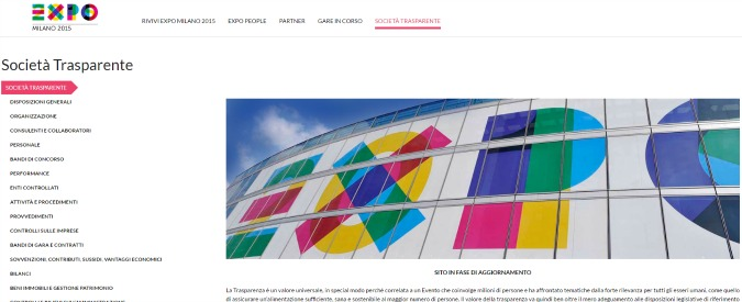 """Expo 2015, Corte dei Conti: """"Concorrenza alterata in molti appalti e anomalie nella fase esecutiva che hanno gonfiato costi"""""""