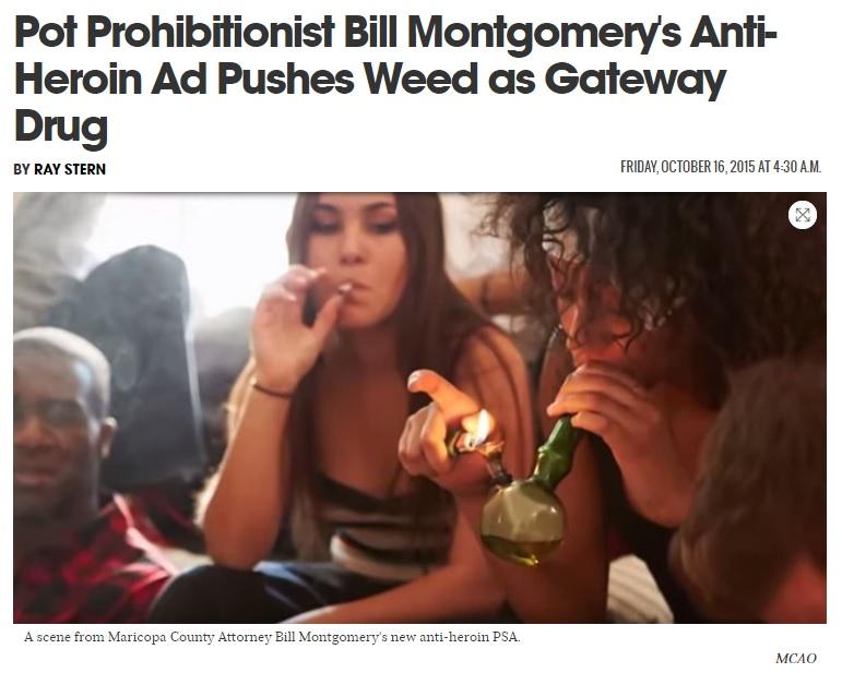 L'articolo sulla campagna anti-droghe pesanti in Arizona