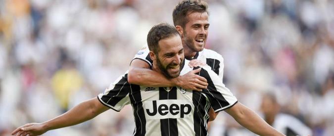Risultati Seria A: Higuain e Pjanic stendono il Sassuolo. Il Napoli stravince a Palermo