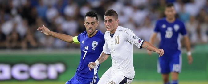 Mondiali Russia 2018, l'Italia soffre ma batte Israele 3 a 1 con Pellè, Candreva e Immobile