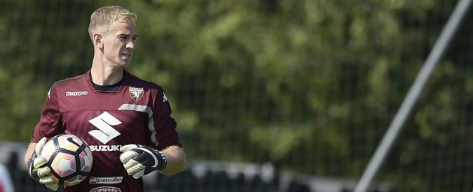 Joe Hart, an englishman in Turin
