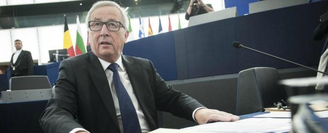 """Ue, Juncker: """"Europa in crisi esistenziale. Non è abbastanza sociale. Ma patto di stabilità non è patto di flessibilità"""""""