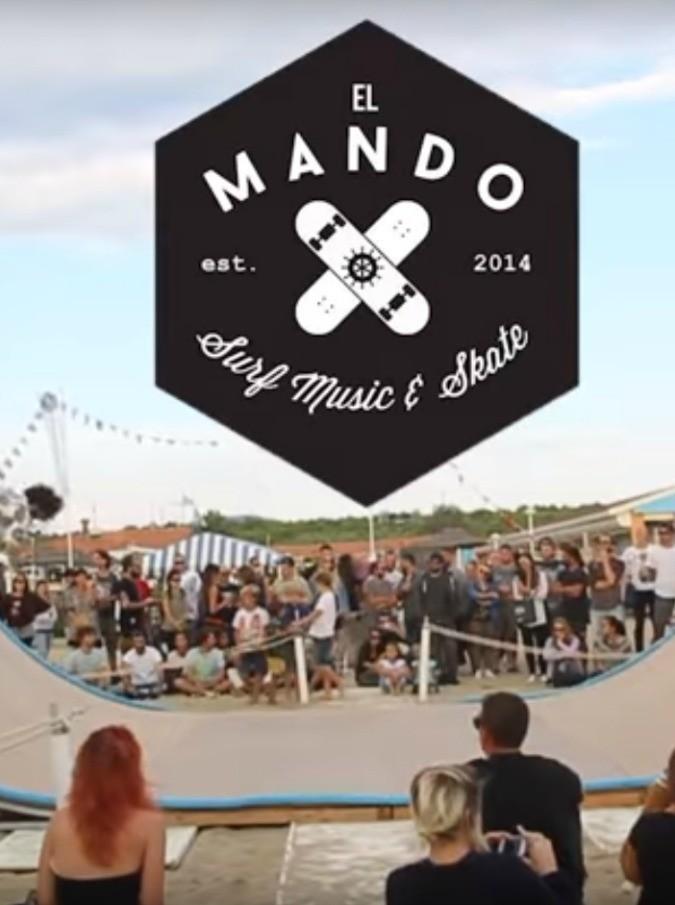 Skate, surf e rock 'n' roll: il festival El Mando porta sulla spiaggia di Viareggio due giorni di divertimento e solidarietà
