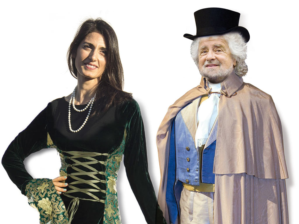 In Edicola l'8 settembre – La Marchesa del Grillo: Raggi tiene (per ora) la Muraro, in barba al Direttorio