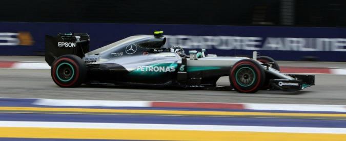 Formula 1, Gp Singapore – Incidente in partenza per Hulkenberg toccato da Sainz, safety car al primo giro: griglia, diretta live, orari tv Sky e Rai