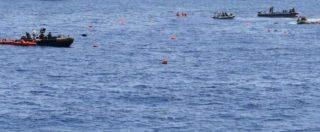 """Migranti, naufragio al largo della Libia. La Marina: """"Sicuramente ci sono annegamenti"""""""