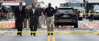 """New Jersey, arrestato sospetto per le bombe di New York: """"Si teme cellula attiva"""". Trovate bombe in zaino vicino a binari"""