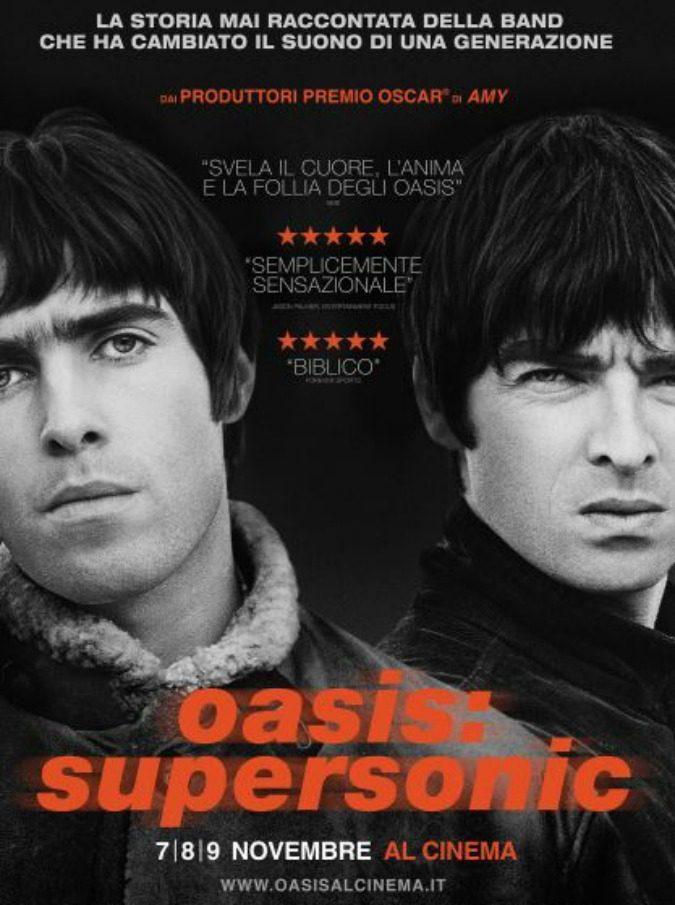 Oasis, i fratelli Gallagher arrivano al cinema con il lungometraggio 'Supersonic': il 7,8 e 9 novembre nelle sale italiane