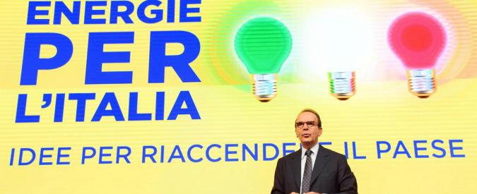 """Centrodestra, Parisi: """"Riprendere manifesto del '94 e aggiornarlo. Renzi pericolo per l'economia"""""""