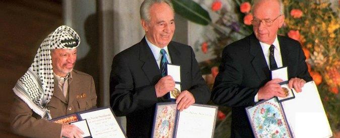 """Shimon Peres, """"sognatore inappagato"""". L'inno di pace cantato con Rabin prima del suo assassinio"""