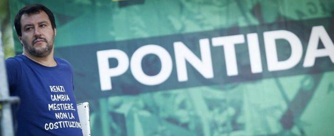 Pontida 2016: povero Bossi, la sua Lega ridotta al nulla di Salvini