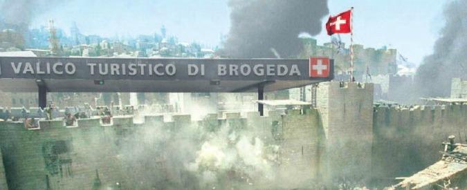 """Svizzera, """"prima i nostri"""". Il referendum della Lega Ticinese contro frontalieri italiani che imbarazza Maroni"""
